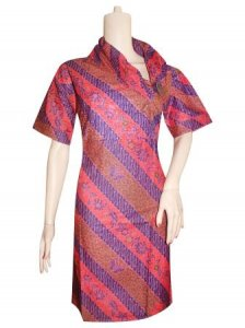BJ-BTK-4171 DRESS BATIK KATUN LUNA