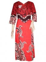 BTK-MUSLIM-1378 SACKDRESS BATIK SANTUNG LAURA