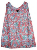 BTK-ANAK-2666 DRESS BATIK KATUN ANAK