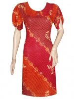 BJ-BTK-4946 DRESS BATIK PARIS MOTIF GRADASI
